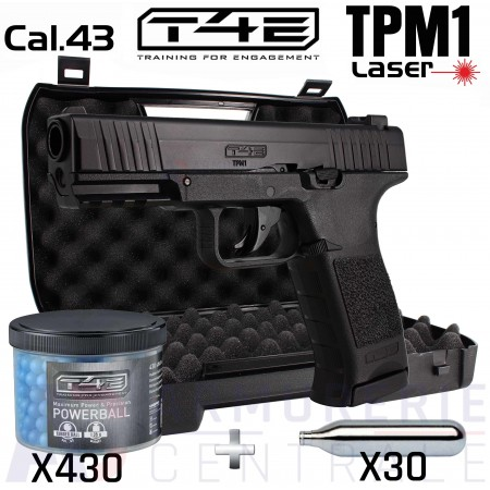 Pack Umarex TPM1 Laser cal .43 (5 Joules)
