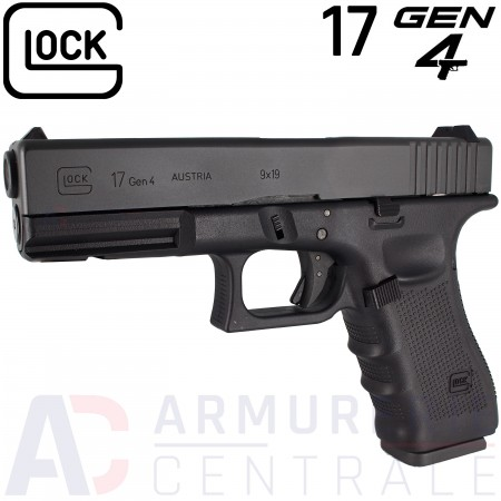 Glock 17 Gen 4 CO2 6mm BB's (1.4 Joules)