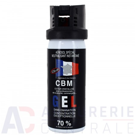 Bombe anti agression CBM CS gel - 50ml