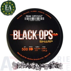 500 plombs BlackOPS  4,5 mm