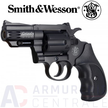 Revolver à blanc Smith & Wesson Grizzly - 9mm RK