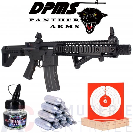 Pack Crosman DPMS SBR Full Auto 4.5 mm (3.5 Joules)