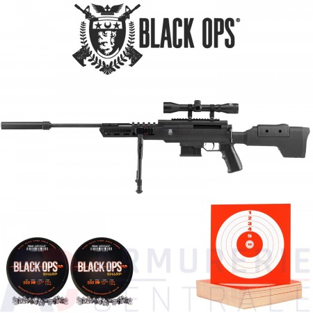 Pack BlackOPS Sniper 4.5mm (20 Joules)