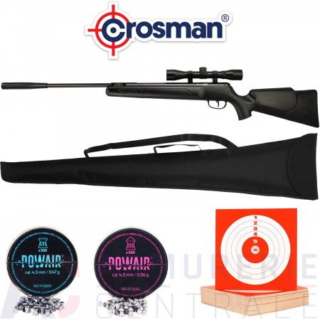 Carabine Crosman Fury NP 4.5mm (20 Joules)