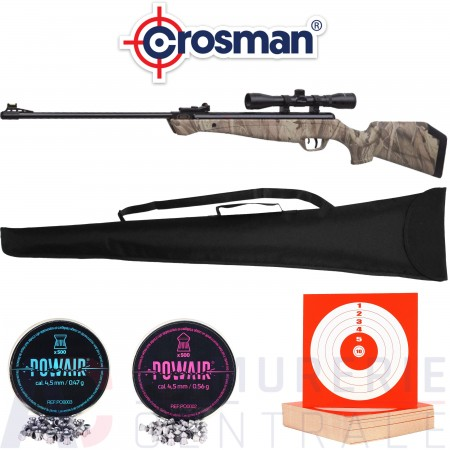 Carabine Crosman Stealth Shot - 4.5mm (20 Joules)
