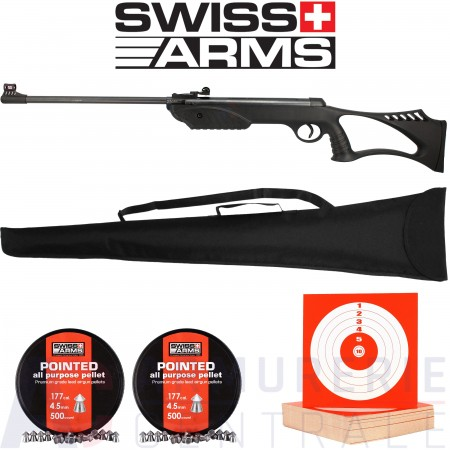 Carabine Swiss Arms Black Bird -.4,5 mm (7.5 Joules)