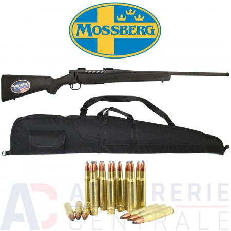 Pack carabine Mossberg Patriot (filetée) - .30-06
