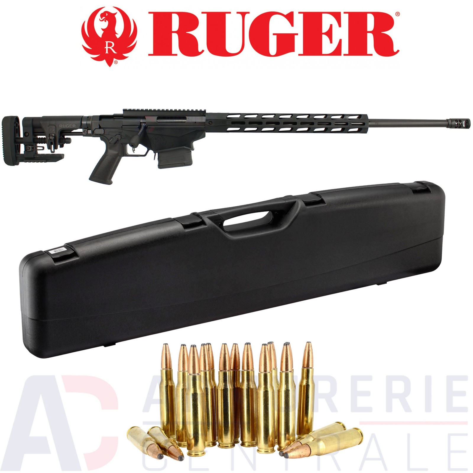 Pack Ruger Precision Rifle Tactical .308 win