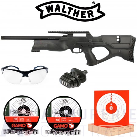 Carabine PCP Walther Reign Bullpup 5.5mm (60 Joules)