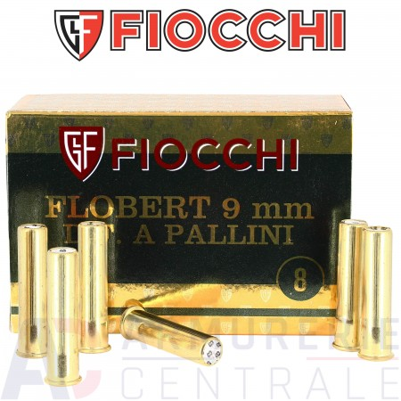 Cartouches Fiocchi 9 mm Flobert plomb n°8