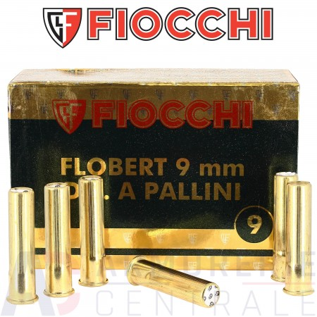 Cartouches Fiocchi 9 mm Flobert plomb n° 9