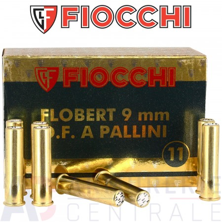 Cartouches Fiocchi 9 mm Flobert plomb n°11
