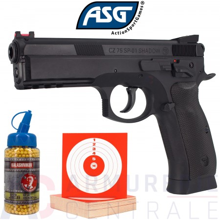 Pack ASG CZ SP 01 Shadow 6mm BB (0.4 joule)