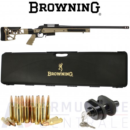 Carabine Browning X-Bolt SF Chassis HS3 FDE .308 win