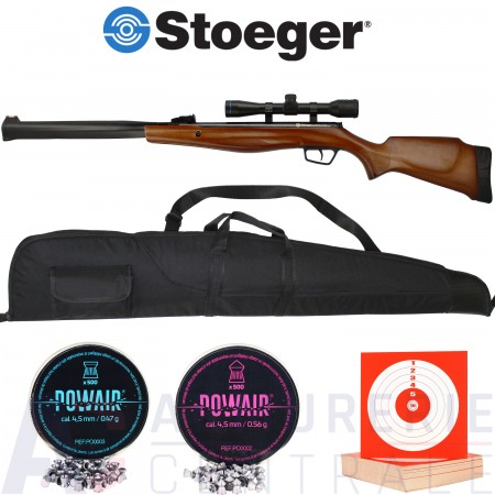 Carabine Stoeger RX20 S3 bois Suppressor 4.5 mm (20...