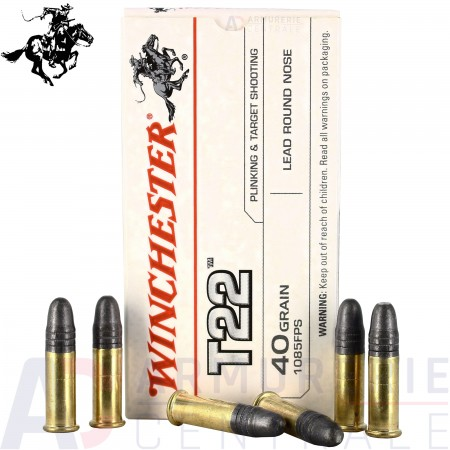 50 cartouches T22 Winchester 22 LR