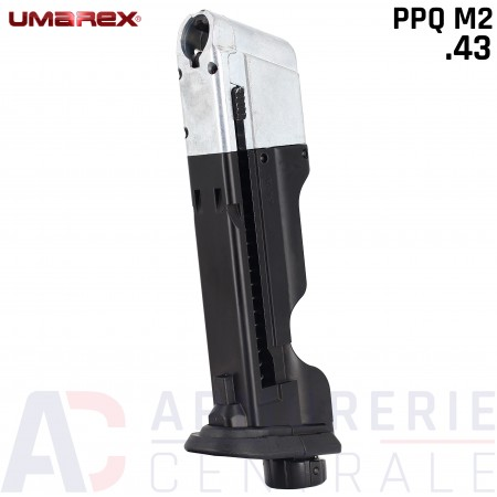 Chargeur Emergency Push Walther T4E PPQ-M2 cal .43