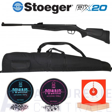 Stoeger RX20 synthétique 4.5mm (20 Joules)