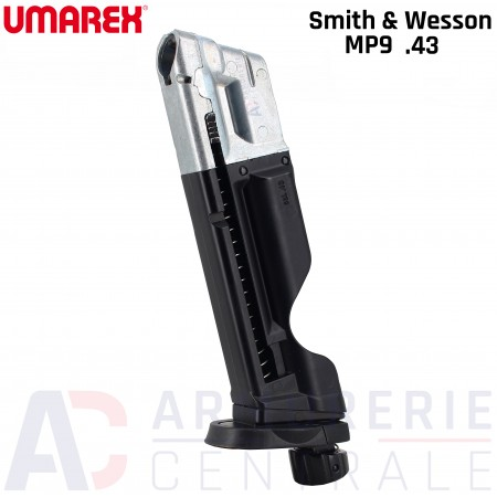 Chargeur Emergency Umarex Smith & Wesson MP9 cal .43