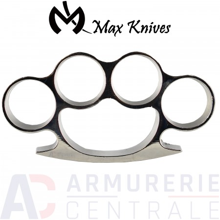Poing americain Max Knives argent