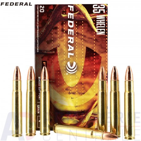 20 Federal .35 Whelen Fusion Bonded Soft Point 200 gr