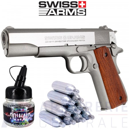 Swiss-Arms SA1911 Seventies 4.5mm Co2 (1.6 joules)
