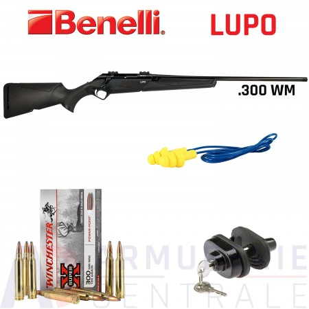 Pack carabine Benelli Lupo .300 Win Mag