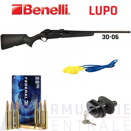Pack carabine Benelli Lupo 30-06 Sprg