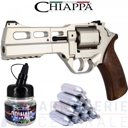 Chiappa Rhino 50 DS Co2 4.5 mm Chrome (3.5 joules)