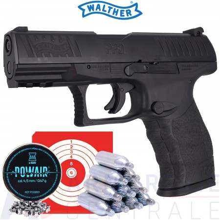 Pack Walther PPQ-M2 Co2 4.5mm (3 joules)