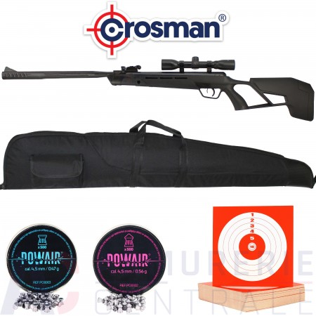 Crosman Mag-Fire Mission 4.5 mm 12 coups (20 Joules)