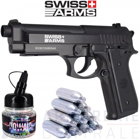 Pack Swiss Arms SA P92 4.5 mm BB'S (2,11 joules)
