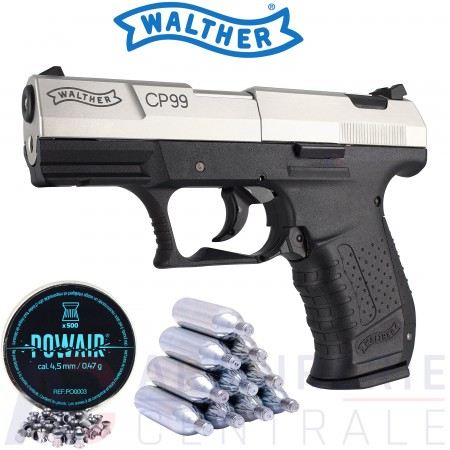 Pistolet Walther CP99 bicolor 4.5 mm (3.5 joules)