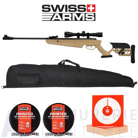 Swiss Arms TG-1 TAN - 4.5mm (20 Joules)